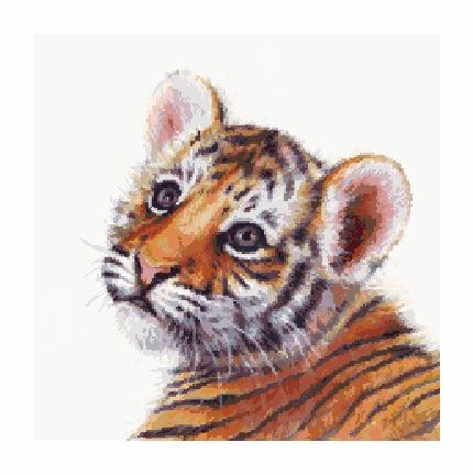 Гоблен - Малко лъвче