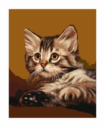 Гоблен - Умно коте