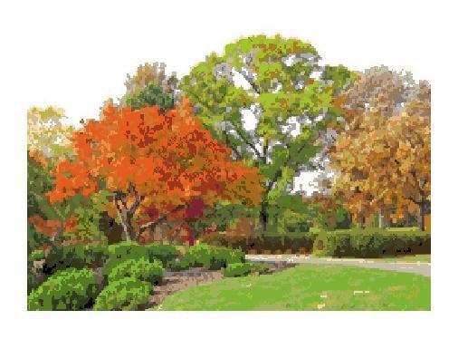 Гоблен - Есенни дървета