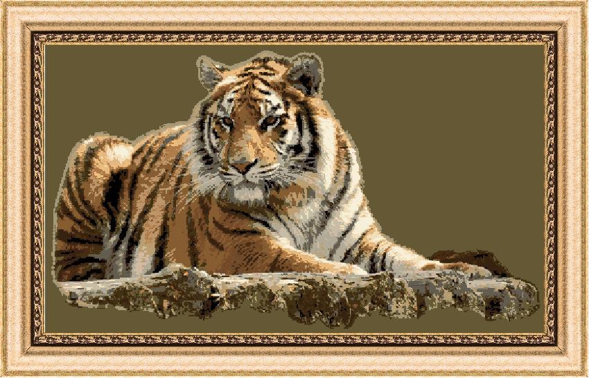 Гоблен - Амурски тигър