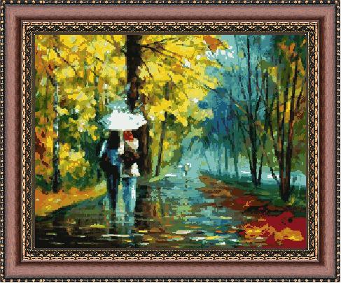 Гоблен - Дъждовно време