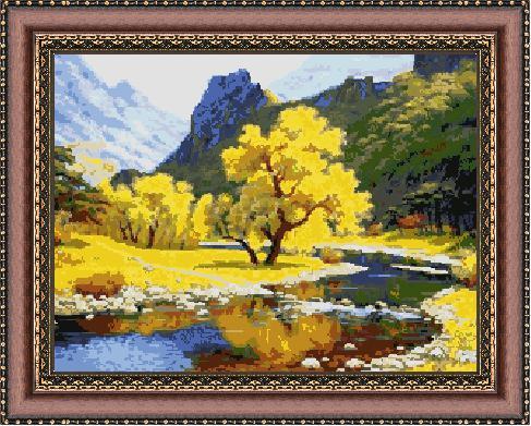 Гоблен - Планински рай