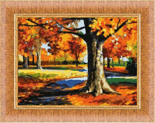 Гоблен - Есенна гора