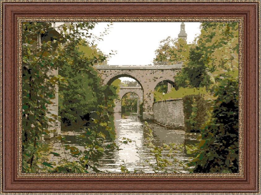 Гоблен - Мост над Сена