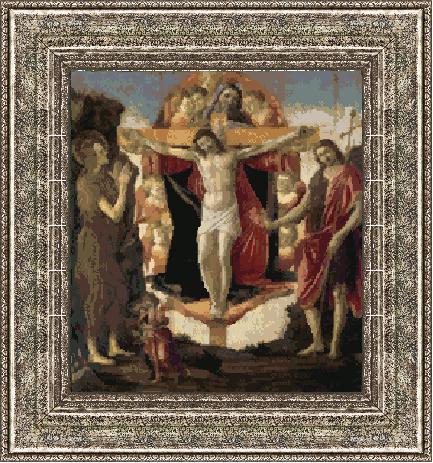 Гоблен - Христос