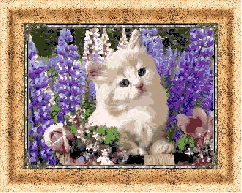 Гоблен - Сладко коте
