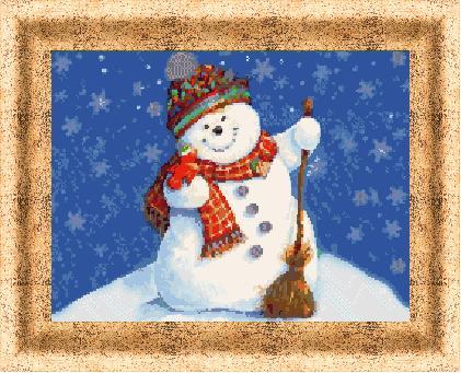 Гоблен - Снежен човек