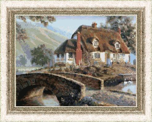 Гоблен - Алпийска къща