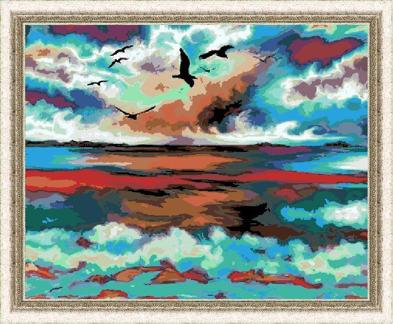 Гоблен - Морски изглед