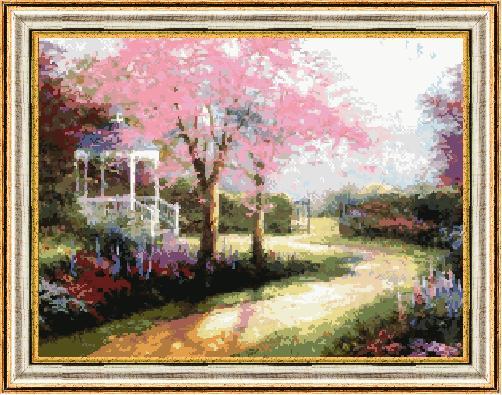 Гоблен - Пролет в гората