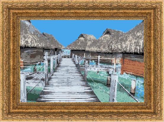 Гоблен - Спомени от Малдивите