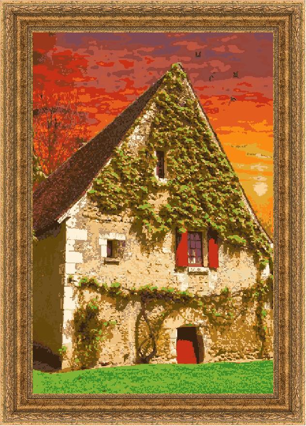 Гоблен - Залез над Ирландия