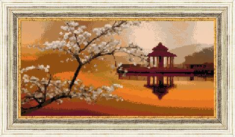 Гоблен - Японски изгрев