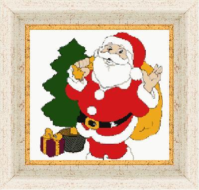 Гоблен - Дядо Коледа