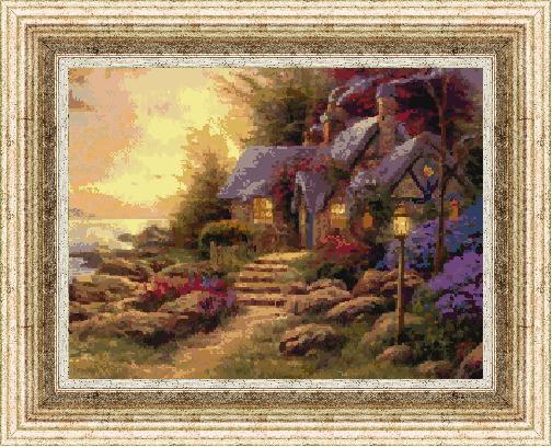 Гоблен - Вечер в гората