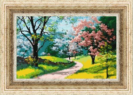 Гоблен - Пъстра пролет