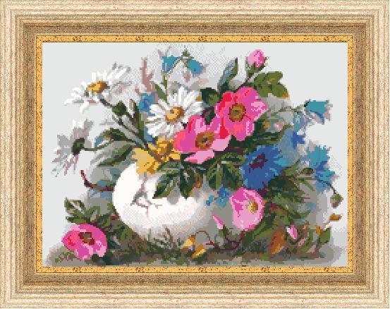Гоблен - Пролетен букет 2