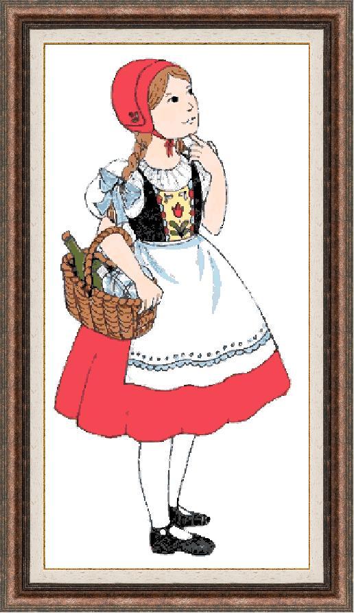 Гоблен - Червената шапчица