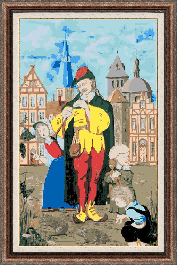 Гоблен - Старият бард