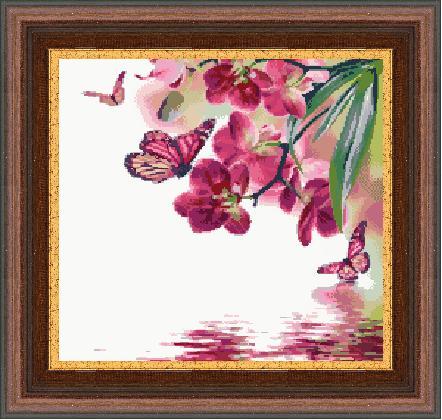Гоблен - Пеперуден свят