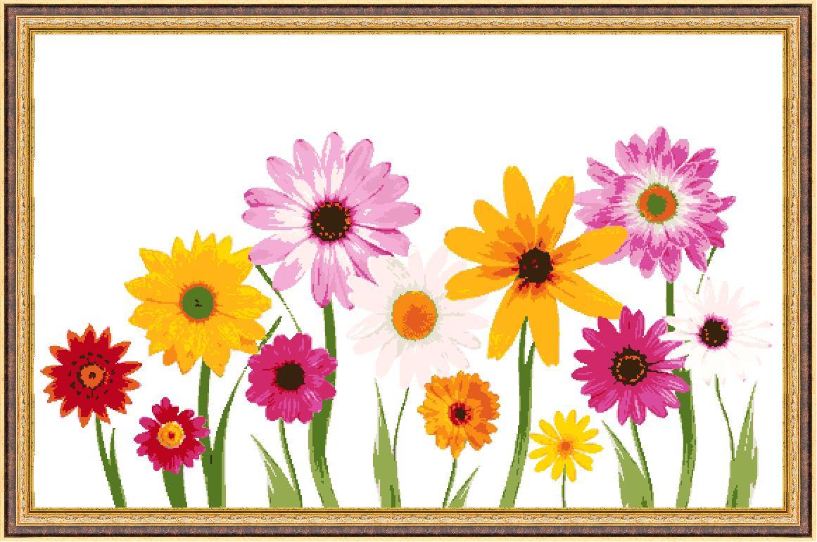 Гоблен - Горски цветя