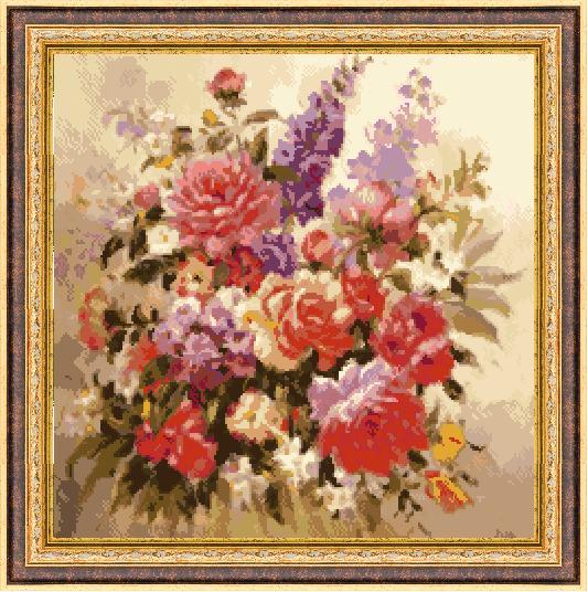 Гоблен - Цветна красота 1