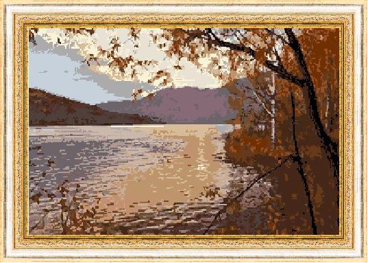 Гоблен - Планинско езеро