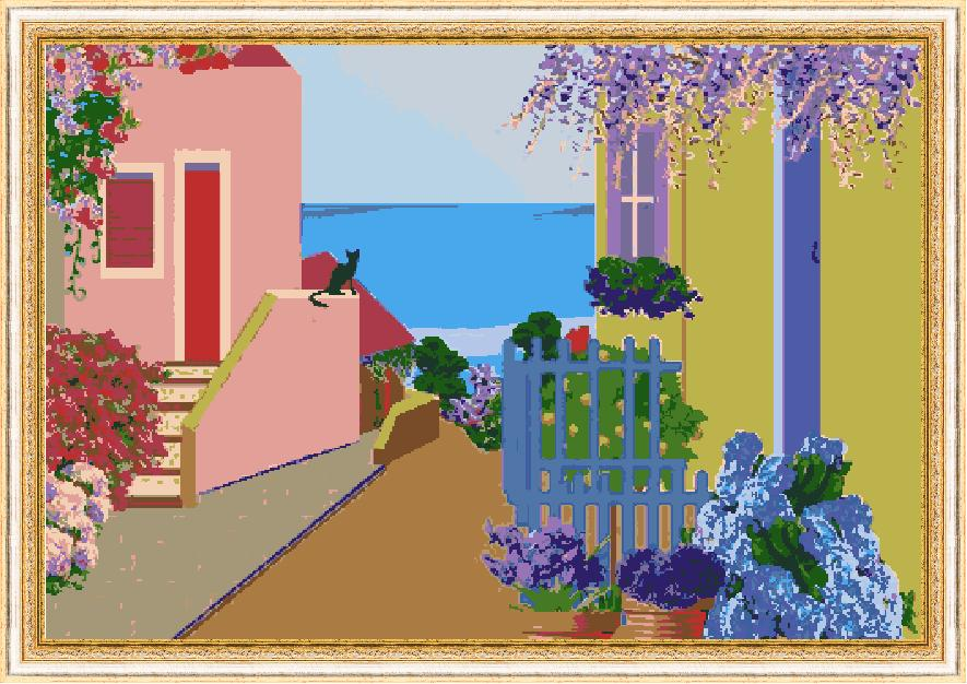 Гоблен - Лятна идилия 2