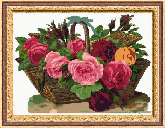 Гоблен - Кощница с цветя